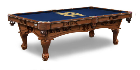 Notre Dame Fighting Irish Pool Table