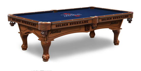 Tulsa Golden Hurricanes Pool Table