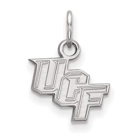 UCF Knights XS Charm 14k White Gold