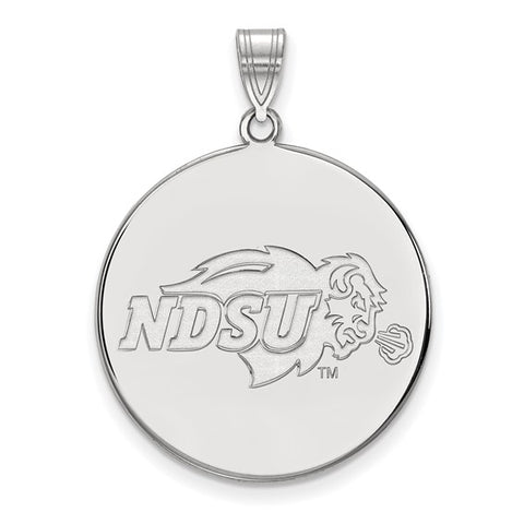 North Dakota State Bison XL Disc Pendant
