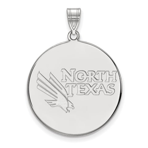North Texas Mean Green XL Disc Pendant