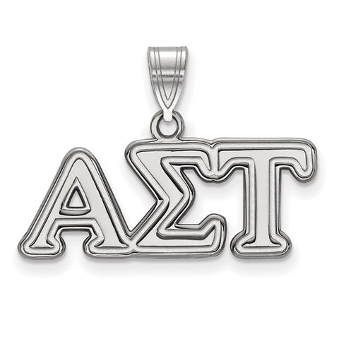 Alpha Sigma Tau Medium Pendant