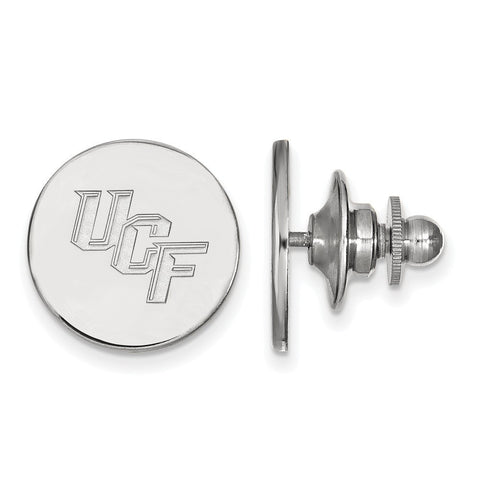 UCF Knights Lapel Pin Sterling Silver
