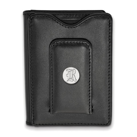 Rice Owls Black Leather Wallet