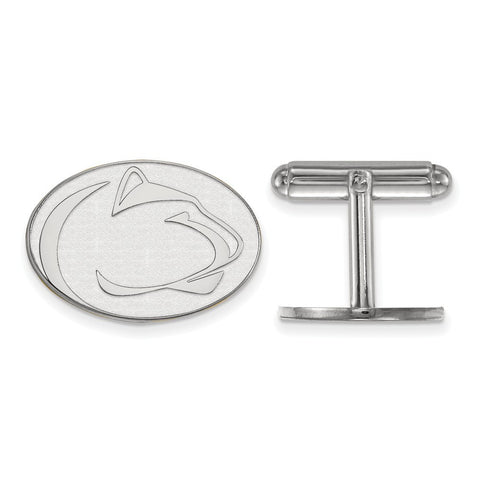 Penn State Nittany Lions Cufflinks Sterling Silver