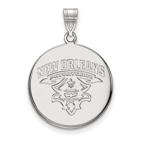 New Orleans Privateers Large Disc Pendant