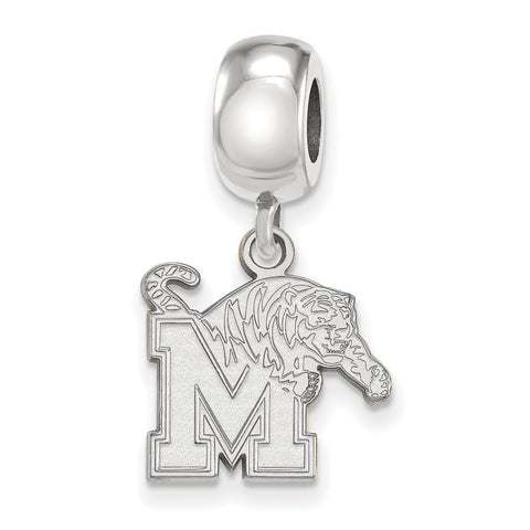 Memphis Tigers Bead Charm Small Dangle
