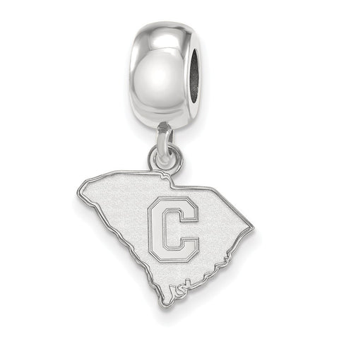 The Citadel Bead Charm Small Dangle Sterling Silver