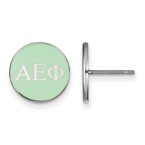 Alpha Epsilon Phi Enameled Post Earrings