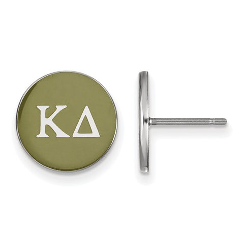 Kappa Delta Enameled Post Earrings