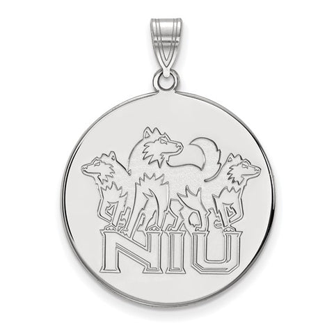 Northern Illinois Huskies XL Disc Pendant