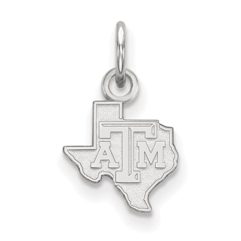 Texas A&M Aggies XS Charm Sterling Silver