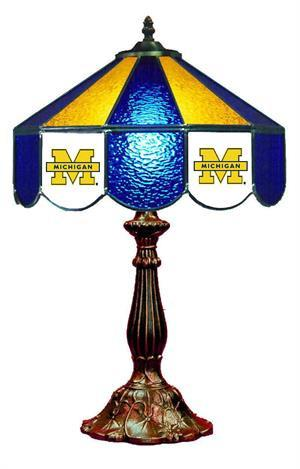 Michigan Wolverines Table Lamp 21 in High
