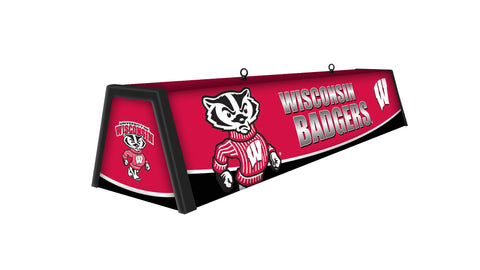 "Wisconsin Badgers 44"" Hanging Game Table Light"
