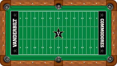 Vanderbilt Wool Pool Table Felt - Gridiron