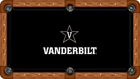 Vanderbilt Wool Pool Table Felt - Black