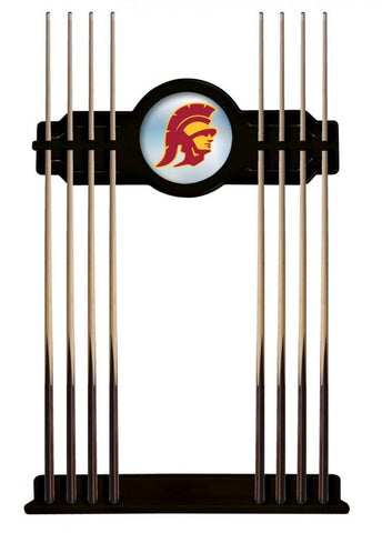 USC Trojans Cue Rack in Black