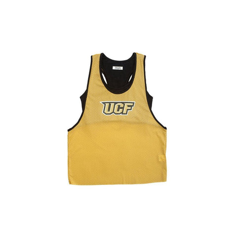 University of Central Florida Mesh Tank with Attached Sporty Bralette
