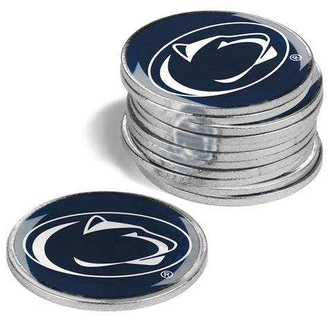 Penn State Nittany Lions 12 Pack Ball Markers