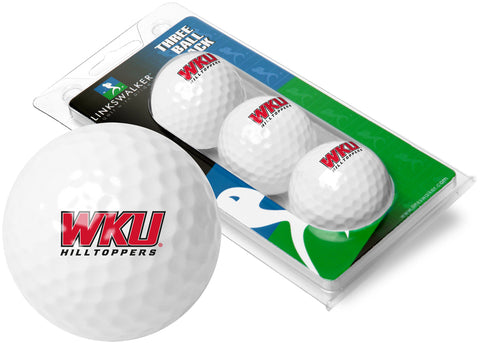 Western Kentucky Hilltoppers 3 Golf Ball Sleeve
