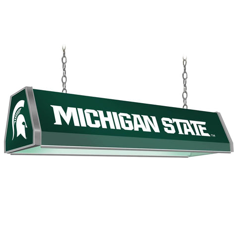 "Michigan State Spartans 38"" Standard Pool Table Light"