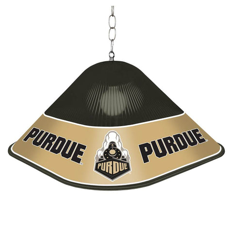 Purdue Boilermakers Game Table Light-Square-Black