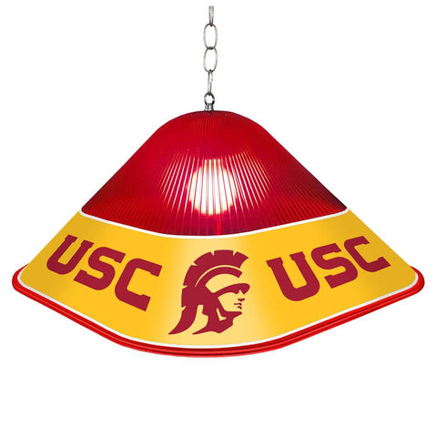 USC Trojans Game Table Light-Square-Red