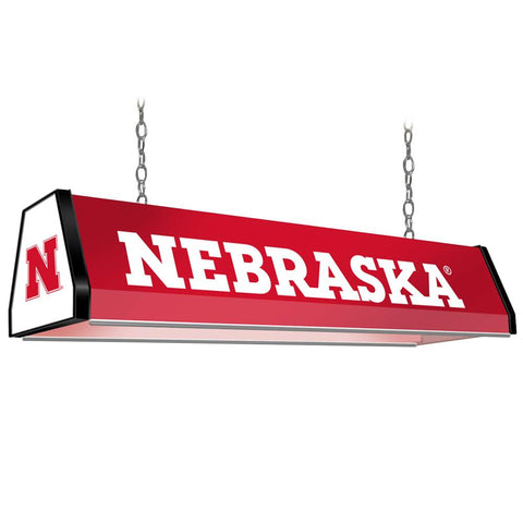 "Nebraska Cornhuskers 38"" Standard Pool Table Light"