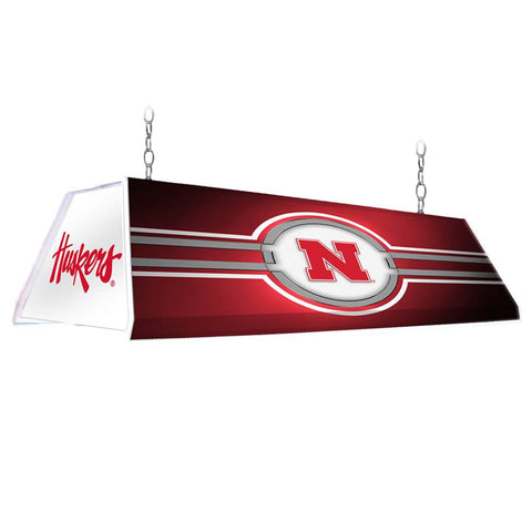 "Nebraska Cornhuskers 46"" Edge Glow Pool Table Light-Red"