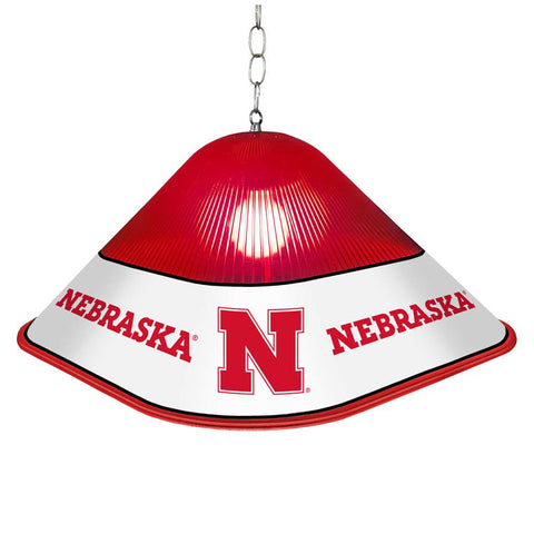 Nebraska Cornhuskers Game Table Light-Square-Primary Logo