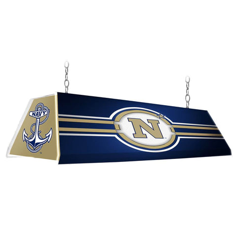 "Navy Midshipmen 46"" Edge Glow Pool Table Light-Anchor"