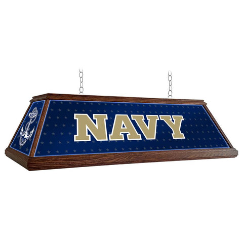 "Navy Midshipmen 49"" Premium Wood Pool Table Light"