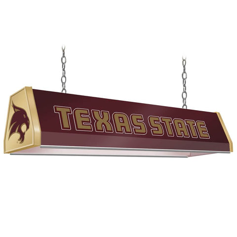 "Texas State Bobcats 38"" Standard Pool Table Light"