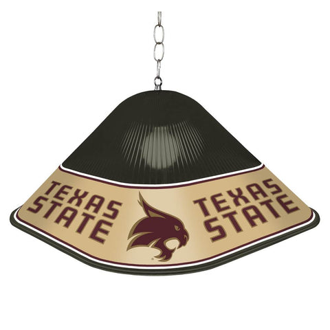 Texas State Bobcats Game Table Light-Square-Black