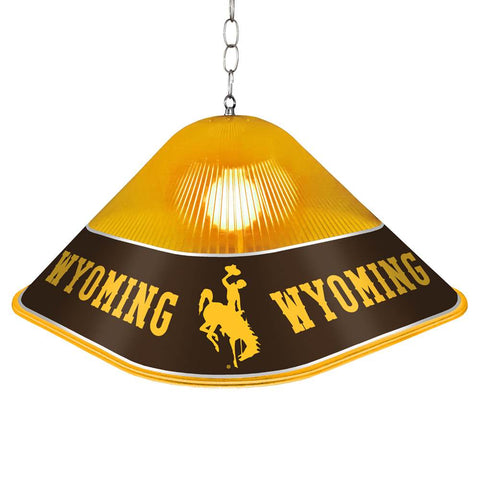 Wyoming Cowboys Game Table Light-Square