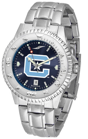 Citadel Bulldogs Competitor Steel AC Watch -Mens