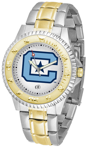 Citadel Bulldogs Competitor 2-Tone Watch -Mens