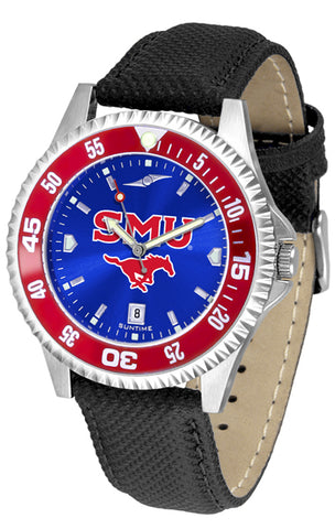 SMU Mustangs Competitor AC-Color Bezel Watch -Mens