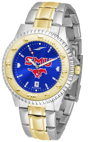 SMU Mustangs Competitor 2-Tone AC Watch -Mens