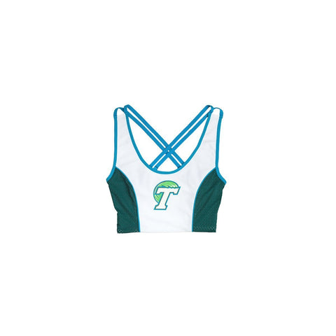 Tulane University Sporty Cropped Tank