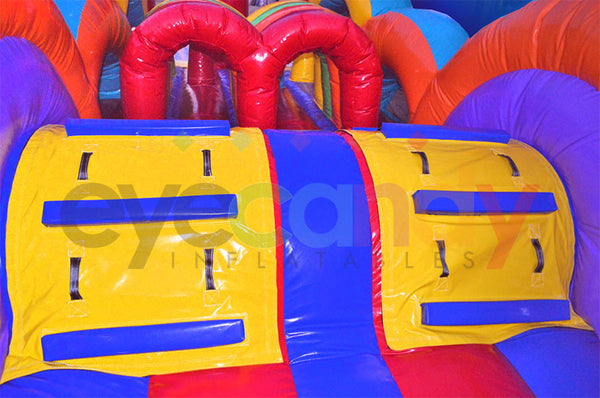 Kid in a Candy Store Inflatable Obstacle Course