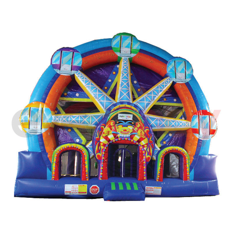 Inflatable Slide Rental Jacksonville Fl: Ferris Wheel 5 In 1 Combo
