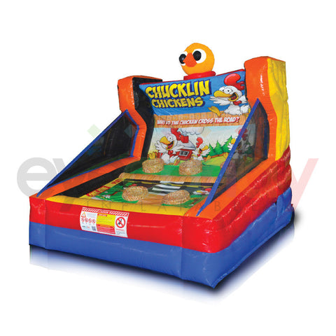 Chucklin' Chickens Inflatable Game