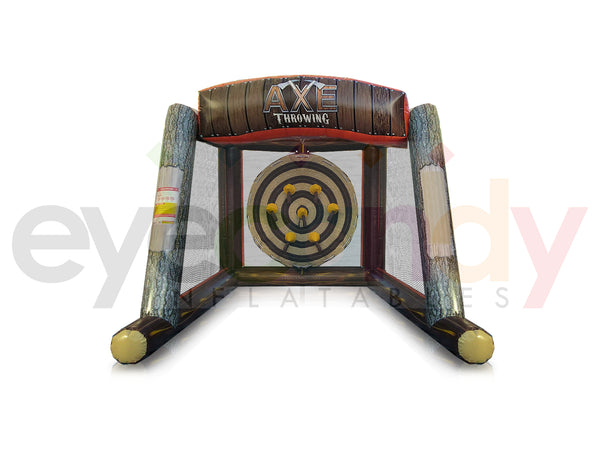 Inflatable Axe Throwing - Single