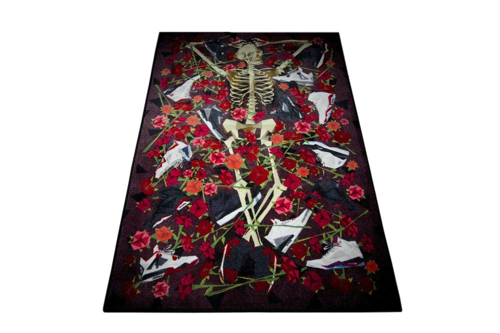 "Spilled x Naturel ""DOA"" (Dead on Air) Rug"