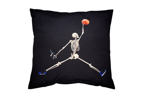 World Famous Throw Pillow