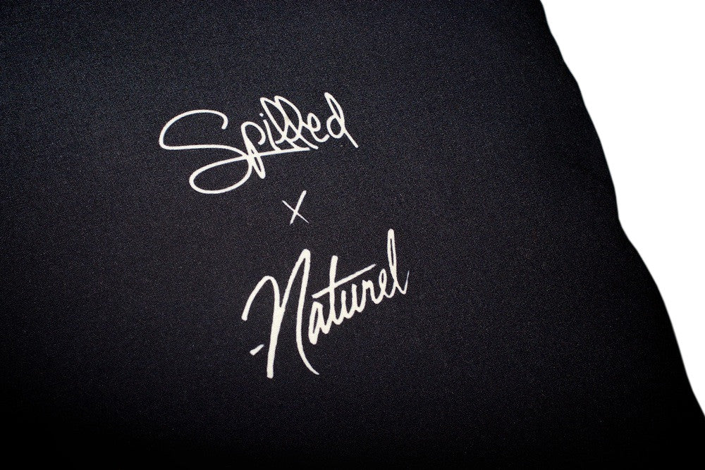 "Spilled x Naturel ""Deadstock"" Throw Pillow"