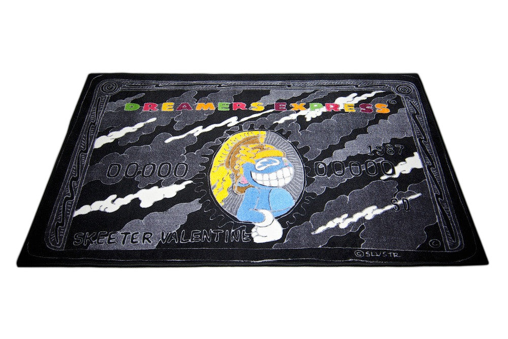 "Spilled x Slvstr ""Black Dreamers Express"" Rug"
