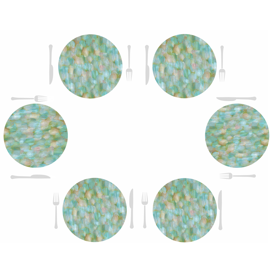 Round Dailies® | Turquoise Strokes (2-Pack)