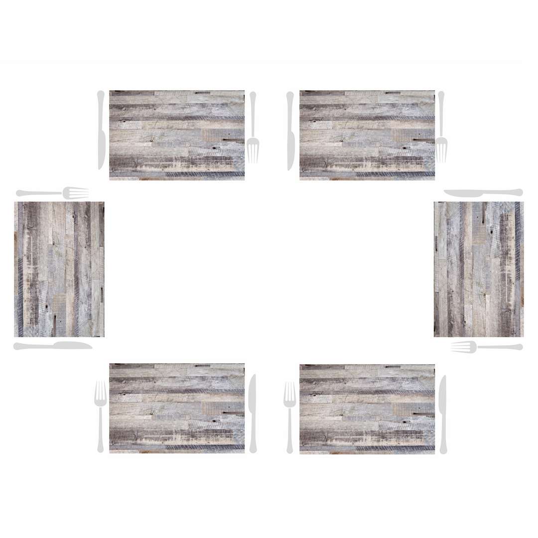 Rectangle Dailies® | Beach Wood (2-Pack) - TingeDaily